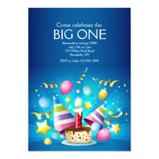 Birthday Cupcake Invitation