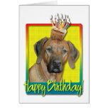 Birthday Cupcake - Rhodesian Ridgeback