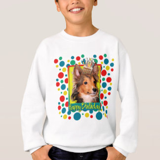 Birthday Cupcake - Sheltie Puppy - Cooper Sweatshirt
