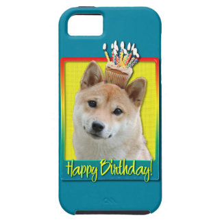 Birthday Cupcake - Shiba Inu iPhone 5 Covers