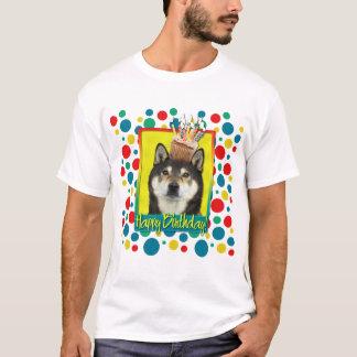 Birthday Cupcake - Shiba Inu - Yasha T-Shirt