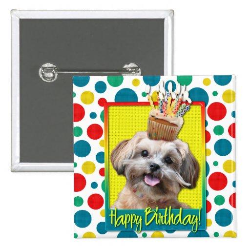 Birthday Cupcake - ShihPoo - Maggie Pin