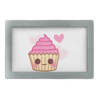 Birthday Cupcake- Smiling Belt Buckles