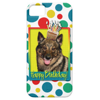 Birthday Cupcake - Vallhund iPhone 5 Covers