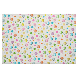 Birthday Cupcakes and Dots Fabric