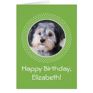 Birthday Customizable Photo Card