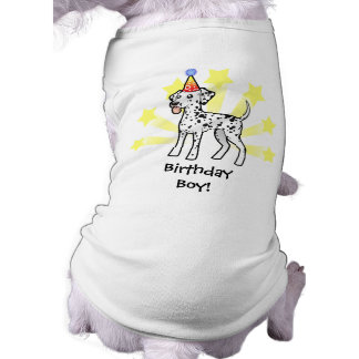 Birthday Dalmatian Dog T-shirt