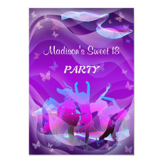 Birthday Dance Party Card