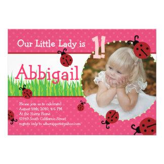 Birthday de petite Madame - coccinelles Bristols