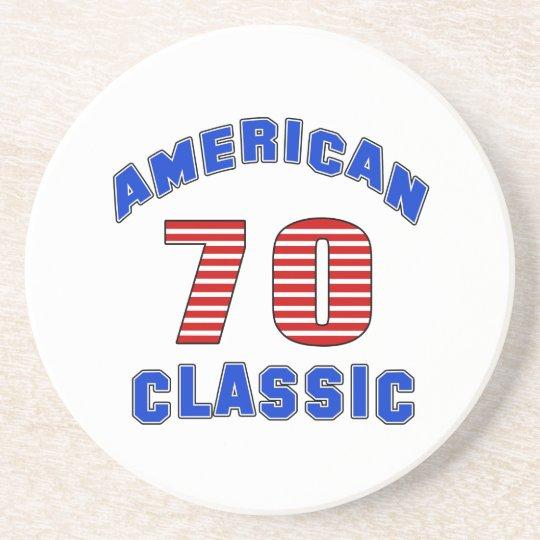 Birthday Design 70 Coaster