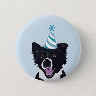 Birthday Dog Pin