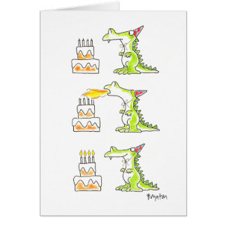 BIRTHDAY DRAGON by Boynton Greeting Card