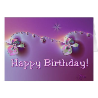 Birthday Edging Card