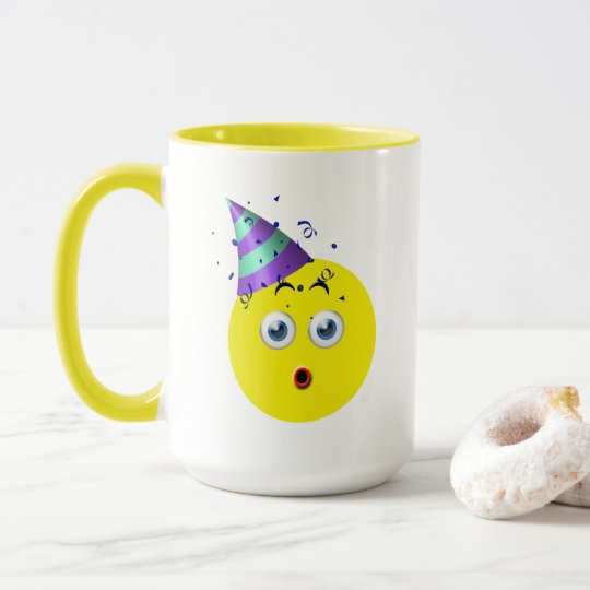 Birthday Emoji Mug