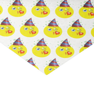 Birthday Emoji Pattern Tissue Paper