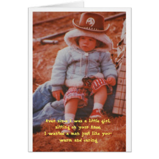 Birthday - Ever since I was a little girl,sitting Card