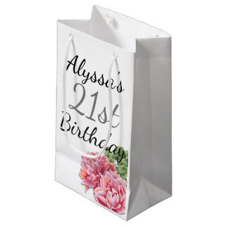 birthday favor bag