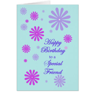 Birthday for A special Friend Greeting Card