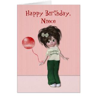 Birthday for Niece Greeting Card