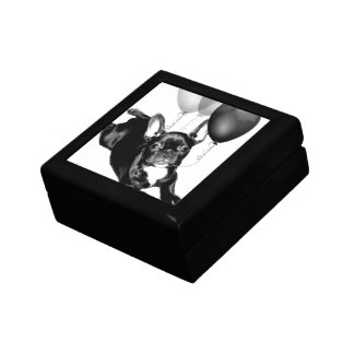 Birthday French Bulldog Keepsake Box