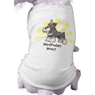 Birthday Giant/Standard/Miniature Schnauzer Pet Tee