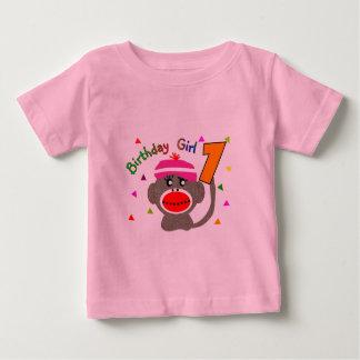 "Birthday Girl ""1"" year old Baby T-Shirt"