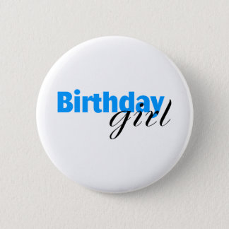 Birthday girl (3) 2 inch round button