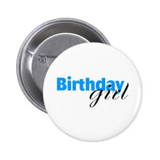 Birthday girl (3) 2 inch round button
