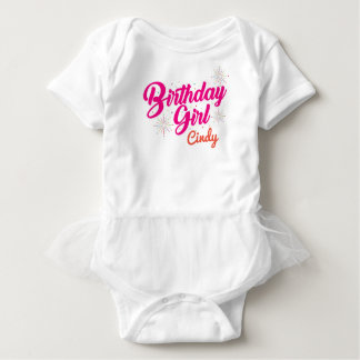 Birthday Girl Baby Bodysuit