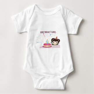 Birthday Girl Baby Bodysuit
