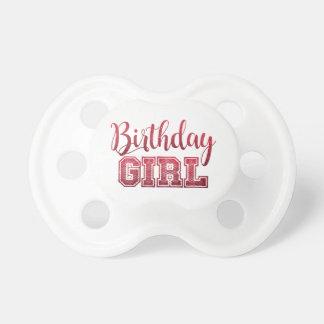 """Birthday Girl"" BPA Free Pacifier"