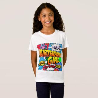 Birthday Girl Comic Book T-Shirt