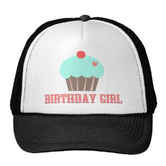 Birthday Girl Cupcake Hat