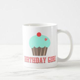 Birthday Girl Cupcake Mug