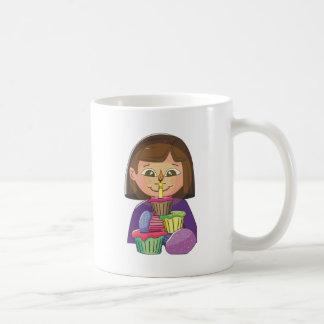 Birthday girl cupcakes mugs