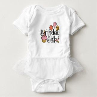 Birthday Girl Cute Design for 1st and 2nd Birthday Baby Bodysuit