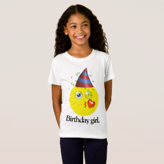 Birthday Girl Emoji T-Shirt