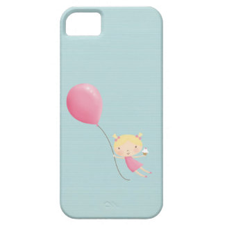 Birthday girl in air cell phone cover