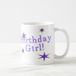 Birthday Girl Is A Star Coffee Mug