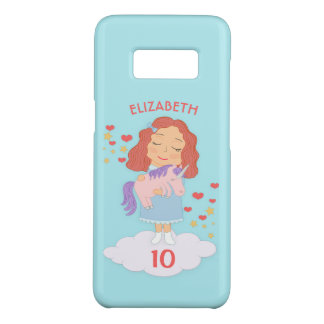 Birthday Girl With Cool Sweet Unicorn Trendy Funny Case-Mate Samsung Galaxy S8 Case