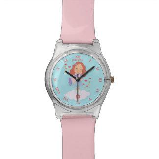 Birthday Girl With Cool Sweet Unicorn Trendy Funny Watch
