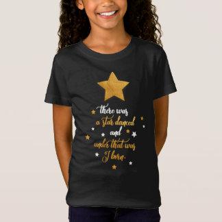 Birthday girls tshirt. Cute Shakespeare quote. T-Shirt