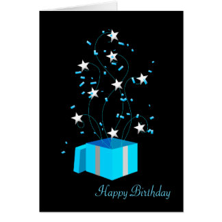 Birthday Greeting Card - Business Office