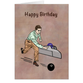 Birthday Greeting for Golfer, Customizable Card