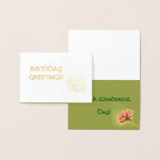 Birthday Greetings!  Card