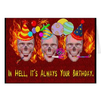 Birthday Hell Card