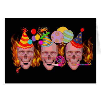 Birthday Hell Greeting Card