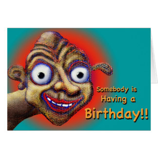 Birthday? Hopin' it's a Great One! Card