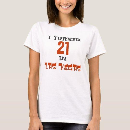BIRTHDAY IN LAS VEGAS T-Shirt