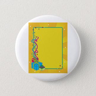Birthday Invite 2 Inch Round Button